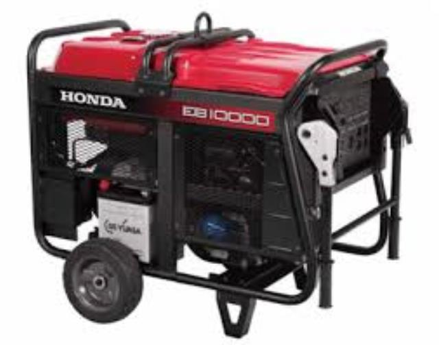Where to find Generator - Honda 10,000 Watts in Waterloo