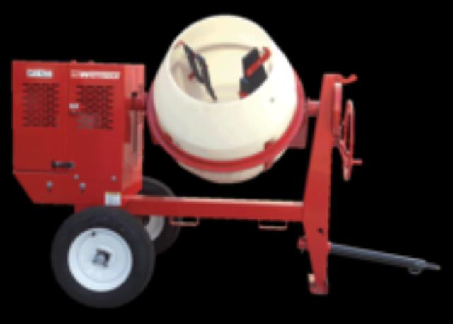 Where to find Towable Gas Concrete Mixer - 9 CF Cap. in Waterloo