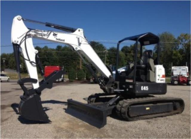 Where to find Excavator - E45 Bobcat 11 1 in Waterloo