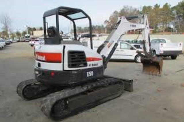 Where to find EXCAVATOR - E50 BOBCAT in Waterloo