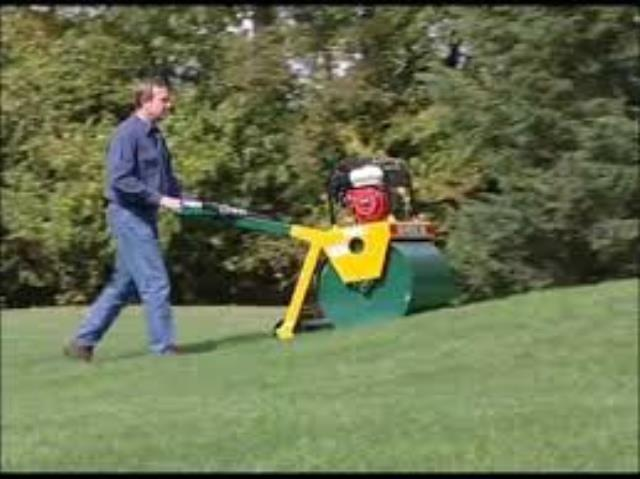 Where to find Gas Powered Lawn Roller 600 LB Impact in Waterloo