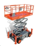 Rental store for 32  SJ 4x4 Scissor Lift with Outriggers in Waterloo IA