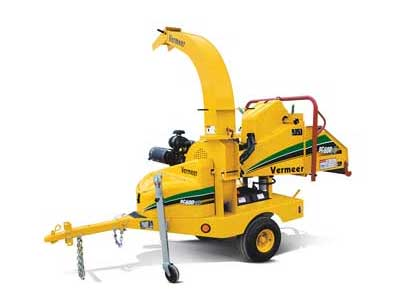 Rent Chippers & Stump Grinders